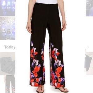 Alfani light polyester  floral pants!